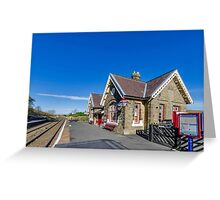 Horton in Ribblesdale Station Greeting Card