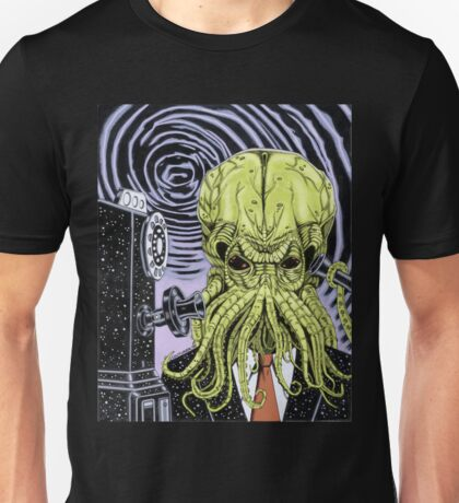The-Collect-Call-Of-Cthulhu Unisex T-Shirt
