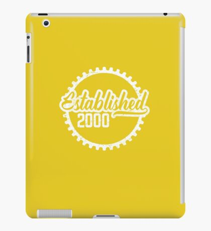 Established 2000  iPad Case/Skin