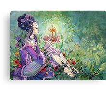 I am the Secret Garden Canvas Print