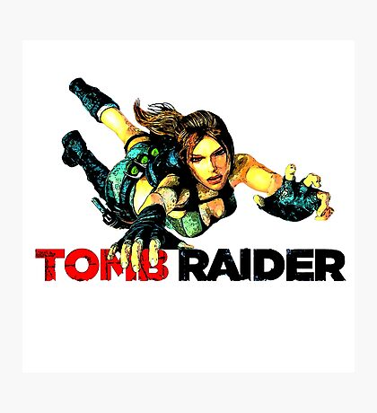 Tomb Raider Photographic Print