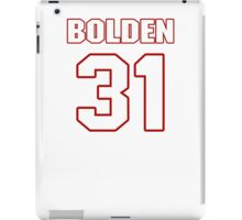 NFL Player Omar Bolden thirtyone 31 iPad Case/Skin