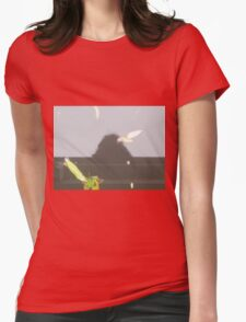 Deep Water Landscape: Autumn Reflections V Womens Fitted T-Shirt