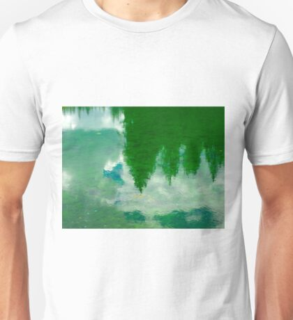 Green Lake - Reflections Unisex T-Shirt
