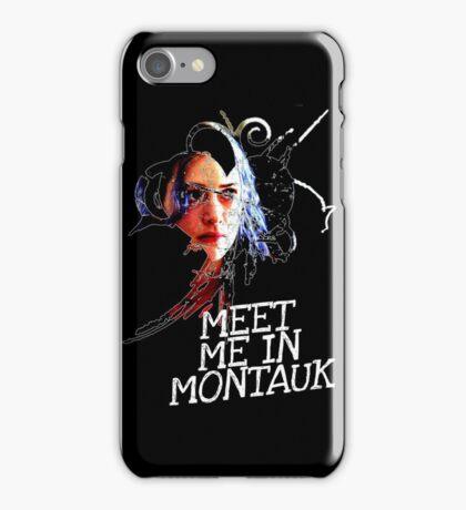 Meet Me In Montauk T-Shirt iPhone Case/Skin
