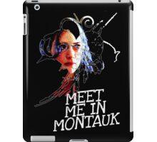 Meet Me In Montauk T-Shirt iPad Case/Skin