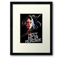 Meet Me In Montauk T-Shirt Framed Print