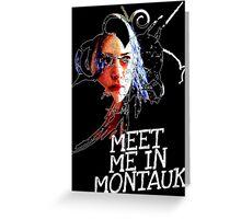 Meet Me In Montauk T-Shirt Greeting Card