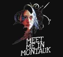 Meet Me In Montauk T-Shirt by OutlawOutfitter