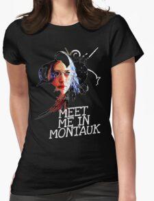 Meet Me In Montauk T-Shirt Womens Fitted T-Shirt