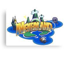 Neverland Canvas Print