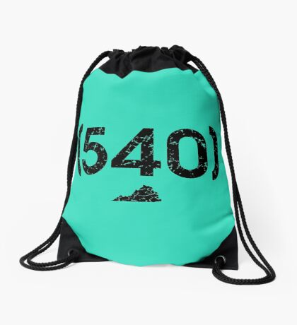 Area Code 540 Virginia Drawstring Bag