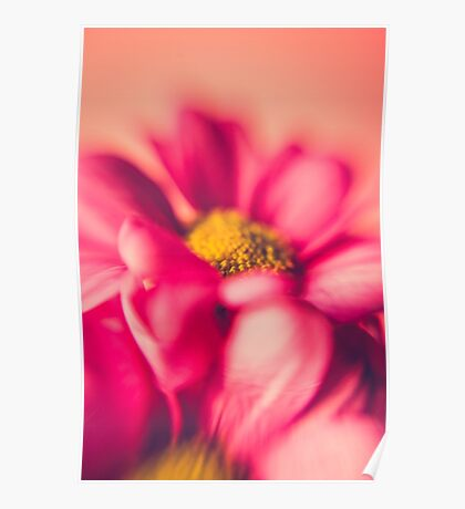 Flower Power (hot pink) Poster