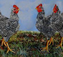 The Farm Chicks by Sandra  Sengstock-Miller