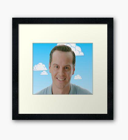 Jim Moriarty storyteller Framed Print