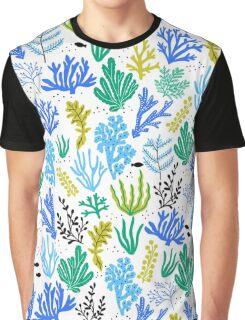 Marine life, seaweed illustration Graphic T-Shirt