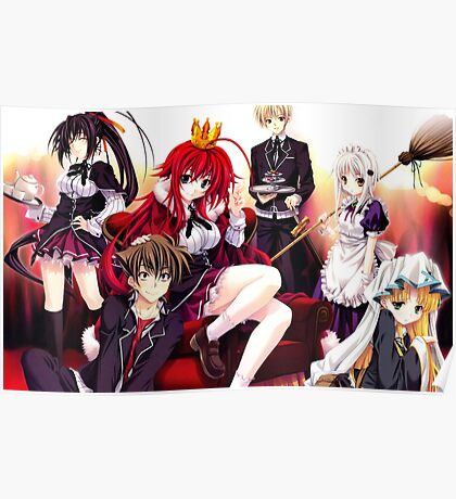 Highschool DXD Team Poster