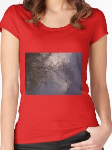 Deep Water Landscape: Autumn Reflections XIII Women's Fitted Scoop T-Shirt
