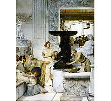 The Sculpture Gallery 1874 Sir lawrence Alma-Tadema Photographic Print
