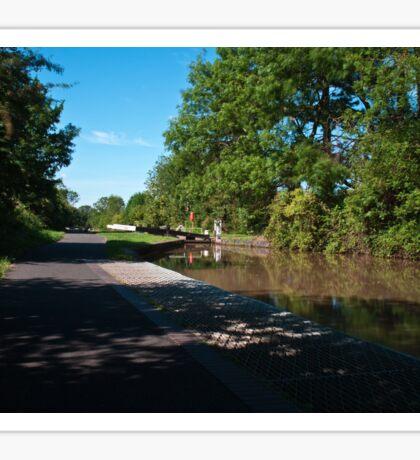 Canal Lock Sticker