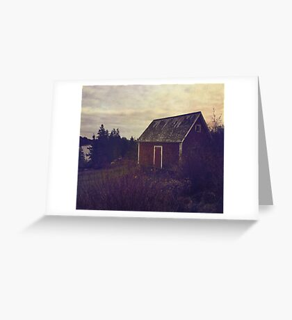Wandering in Nova Scotia Greeting Card