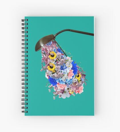Light is needed to grow flowers Spiral Notebook