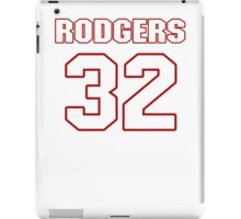 NFL Player Jacquizz Rodgers thirtytwo 32 iPad Case/Skin