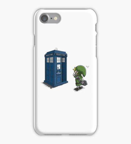The Legend of Zelda & Doctor Who - Link (Tardis) iPhone Case/Skin