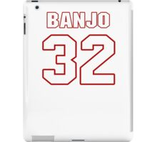 NFL Player Chris Banjo thirtytwo 32 iPad Case/Skin