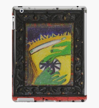 Oh Oh - Green Hands iPad Case/Skin