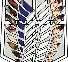 Attack On Titan Survey Corps by Kate2409