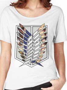 Attack On Titan Survey Corps Women's Relaxed Fit T-Shirt