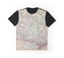 Canada Antique Maps Graphic T-Shirt