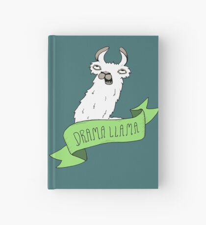 Drama Llama Hardcover Journal