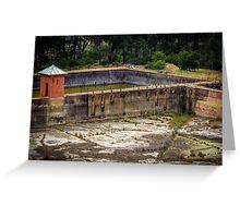Ye Olde Water reservoir controller Greeting Card