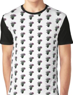 Neon Rose Graphic T-Shirt