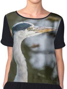 Heron Head Chiffon Top