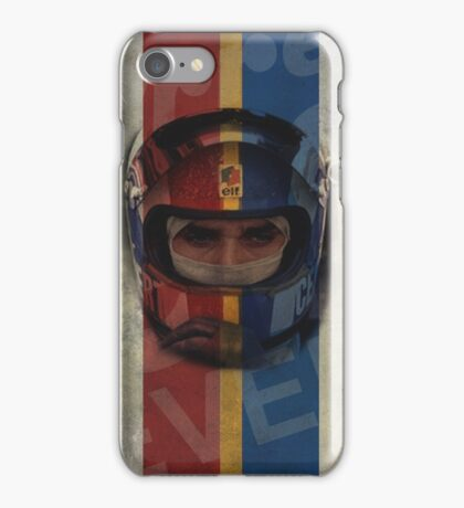 Francois Cevert Design iPhone Case/Skin