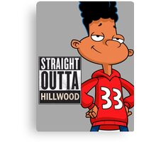 Hey Arnold! Straight Outta Hillwood - Gerald Canvas Print