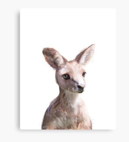 Little Kangaroo Metal Print