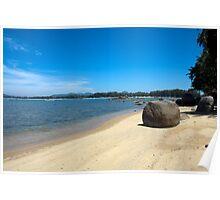 Rock on Bang Tao Beach,  Phuket Poster