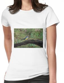 Great tit Womens Fitted T-Shirt
