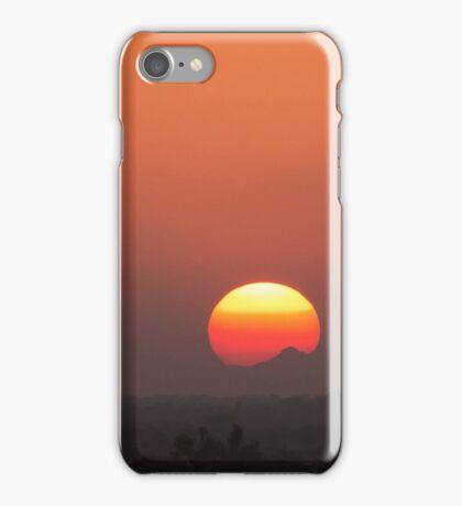 Tricolor Sun iPhone Case/Skin