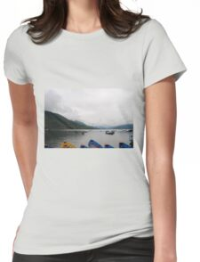 Overcast Womens Fitted T-Shirt