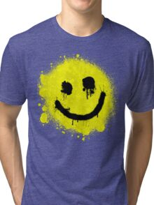 Smile - Graffiti Tri-blend T-Shirt