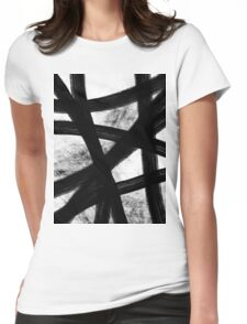 Skater Girl Womens Fitted T-Shirt