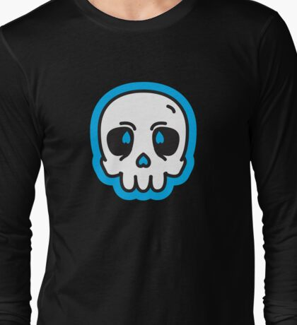 Simple Skull Long Sleeve T-Shirt