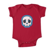 Simple Skull One Piece - Short Sleeve