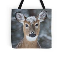 New Winter hat - White-tailed deer Tote Bag