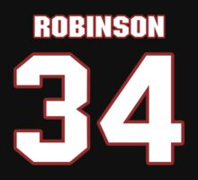 NFL Player Trenton Robinson thirtyfour 34 by imsport